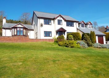 Thumbnail 4 bed detached house for sale in Trelawnyd, Flintshire, North Wales