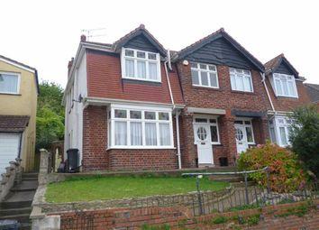 Thumbnail 3 bed semi-detached house for sale in Runswick Road, Brislington, Bristol