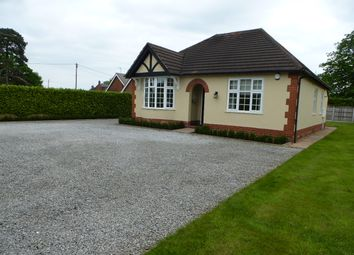 Thumbnail 2 bed detached bungalow to rent in Crewe Road, Shavington, Crewe, Cheshire