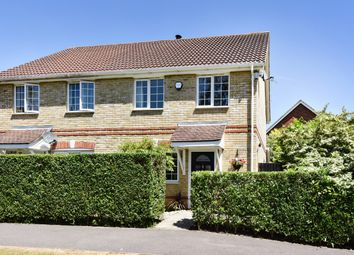 Thumbnail 3 bed semi-detached house for sale in Barton Close, Knaphill, Woking