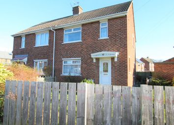 Thumbnail 2 bed semi-detached house for sale in Claremont Drive, Shiney Row, Houghton Le Spring