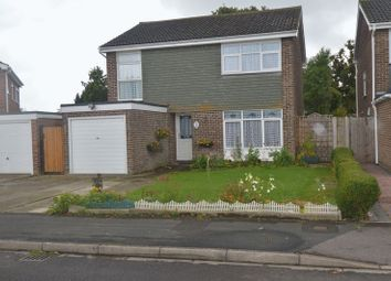 Thumbnail 4 bed detached house for sale in Windermere Avenue, Stubbington, Fareham