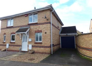 Thumbnail 2 bed semi-detached house for sale in Bluebell Close, Bedford, Bedfordshire