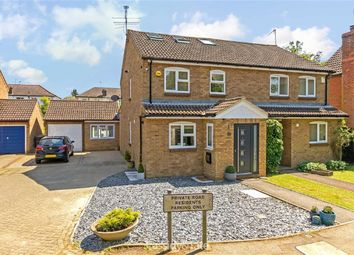Thumbnail 4 bed semi-detached house for sale in Orton Close, St Albans, Hertfordshire