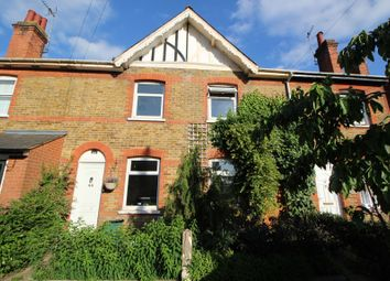 Thumbnail 2 bed terraced house to rent in Wickham Road, Colchester