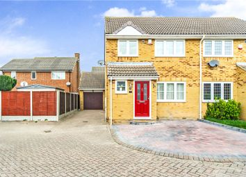 Thumbnail 3 bed semi-detached house for sale in Fairfields, Gravesend, Kent
