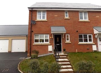 Thumbnail 3 bed semi-detached house for sale in Lon Yr Ardd, Coity, Bridgend.