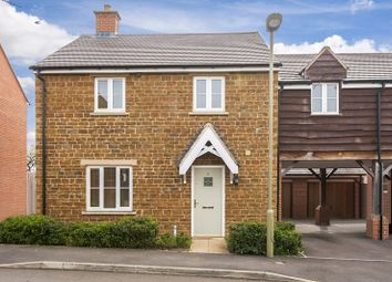 Thumbnail 3 bed link-detached house for sale in Oak Farm Close, Milcombe, Banbury