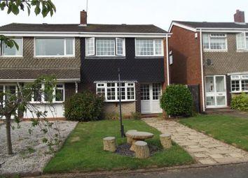 Thumbnail 3 bed semi-detached house for sale in Jordan Way, Aldridge, West Midlands