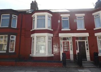 Thumbnail 4 bed terraced house for sale in Portelet Road, Liverpool, Merseyside, Uk
