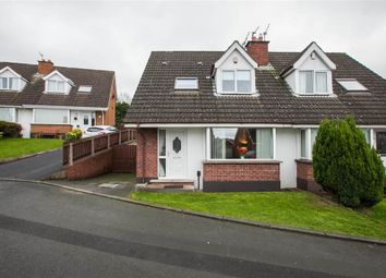 Thumbnail 3 bed semi-detached house for sale in 138, Dunlady Manor, Belfast