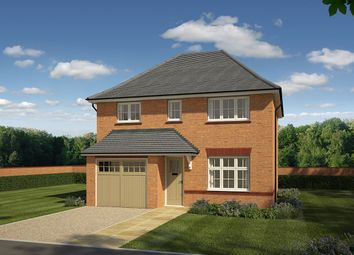 "Thumbnail 4 bedroom detached house for sale in ""Shrewsbury"" at Wrexham Road, Chester"