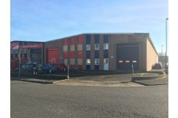 Thumbnail Industrial to let in Unit 12A Central Trading Esate, Southampton