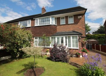 Thumbnail 3 bed semi-detached house for sale in Daresbury Avenue, Urmston, Manchester