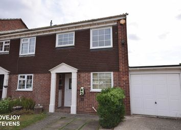 Thumbnail 3 bed semi-detached house to rent in Foxhunter Way, Thatcham