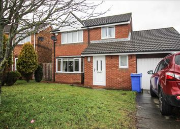 Thumbnail 3 bed detached house to rent in Pendleton Drive, Northburn Chase, Cramlington
