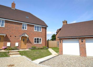 Thumbnail 4 bed semi-detached house for sale in Folly Court, Cold Ash Hill, Cold Ash, Berkshire