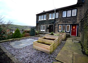 Thumbnail 1 bed cottage for sale in Lane Top, Linthwaite, Huddersfield, West Yorkshire