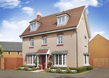 "Thumbnail 4 bed detached house for sale in ""Hertford"" at Ripley Link, Great Denham, Bedford"
