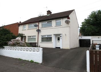 Thumbnail 2 bed semi-detached house for sale in Cherryhill Road, Dundonald, Belfast