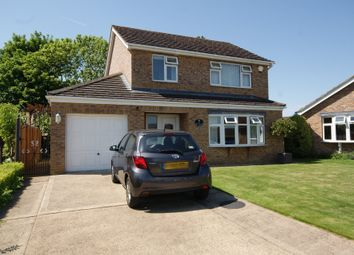 Thumbnail 3 bed detached house for sale in Roman Close, Navenby, Lincoln