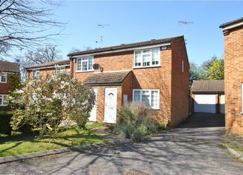 Thumbnail 2 bed end terrace house for sale in Larksfield, Englefield Green, Surrey