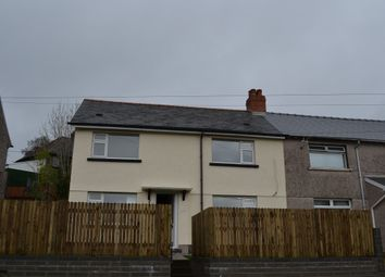 Thumbnail 4 bed semi-detached bungalow to rent in Bryn Road, Llanfach, Abercarn