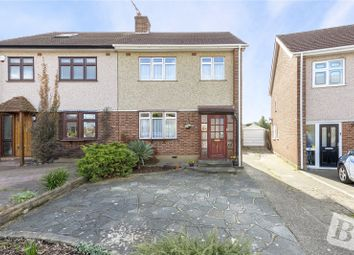 Thumbnail 3 bed semi-detached house for sale in Rutland Drive, Hornchurch