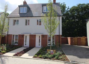 Thumbnail 3 bed terraced house to rent in Patrick Clayton Drive, Ashford