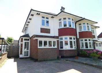 Thumbnail 3 bedroom semi-detached house for sale in Elgar Avenue, Berrylands, Surbiton