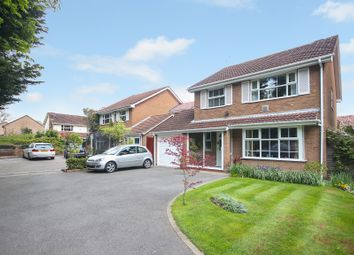 Thumbnail 4 bed detached house for sale in Stonehill Croft, Monkspath, Solihull