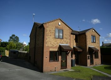 Thumbnail 2 bed town house to rent in Ashton Close, Swanwick, Alfreton