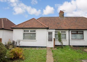 Thumbnail Semi-detached bungalow for sale in Bengarth Road, Northolt