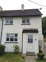 Thumbnail 2 bedroom semi-detached house to rent in Trevithick Road, St Austell, Cornwall