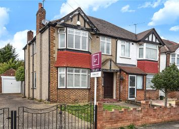 Thumbnail 3 bed semi-detached house to rent in Collins Drive, Ruislip, Middlesex