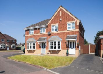 Thumbnail 3 bed semi-detached house for sale in Coltsfoot Close, Leigh