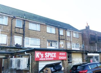 Thumbnail 2 bedroom maisonette for sale in Cross Street, Erith, Kent