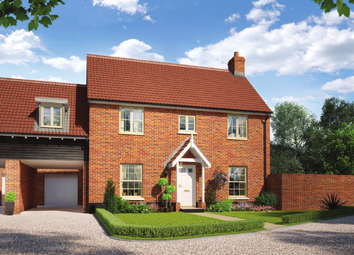 Thumbnail 4 bed link-detached house for sale in Colne Gardens, Off Robinson Road, Colchester, Essex