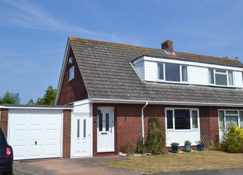 Thumbnail 3 bed semi-detached house for sale in Morven Drive, Exmouth