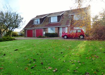 Thumbnail 4 bed detached house for sale in The Street, Tharston, Norwich