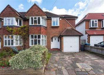 Thumbnail 3 bed semi-detached house for sale in Arundel Road, Kingston Upon Thames
