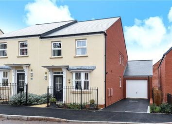 Thumbnail 3 bed semi-detached house for sale in Penleigh Road, Wells, Somerset