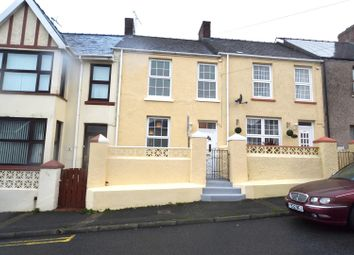 Thumbnail 3 bed terraced house for sale in Cromwell Road, Milford Haven