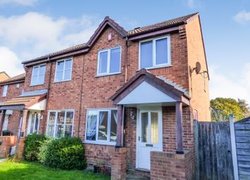 Thumbnail 2 bed end terrace house for sale in Pinders Green Fold, Methley