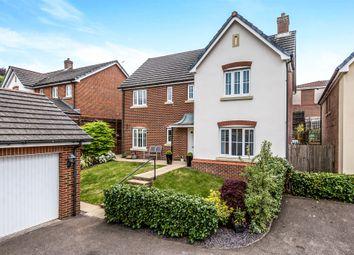Thumbnail 4 bedroom detached house for sale in Cadwal Court, Llantwit Fardre, Pontypridd