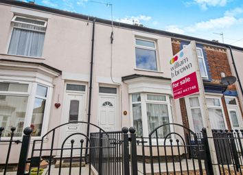 Thumbnail 2 bed terraced house for sale in Mckinley Avenue, Albemarle Street, Hull