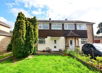 Thumbnail 3 bed semi-detached house to rent in Well Close, Camberley, Surrey