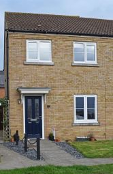 Thumbnail 3 bedroom end terrace house to rent in Welland Place, Ely