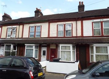 Thumbnail 3 bedroom terraced house for sale in Shaftesbury Road, Luton, Bedfordshire