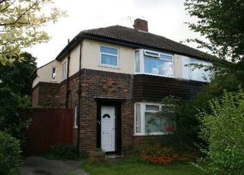 Thumbnail 3 bed property to rent in Woodend Avenue, Liverpool